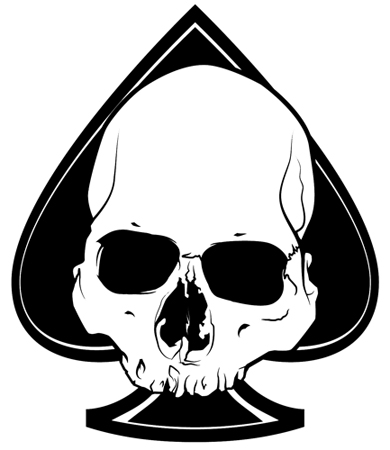 AAC- Advanced Armament Corp Blackout Skull