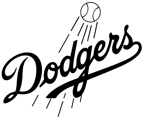 los angeles dodgers coloring pages - photo#14